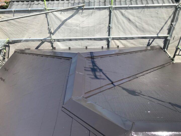伊達市 屋根塗装工事